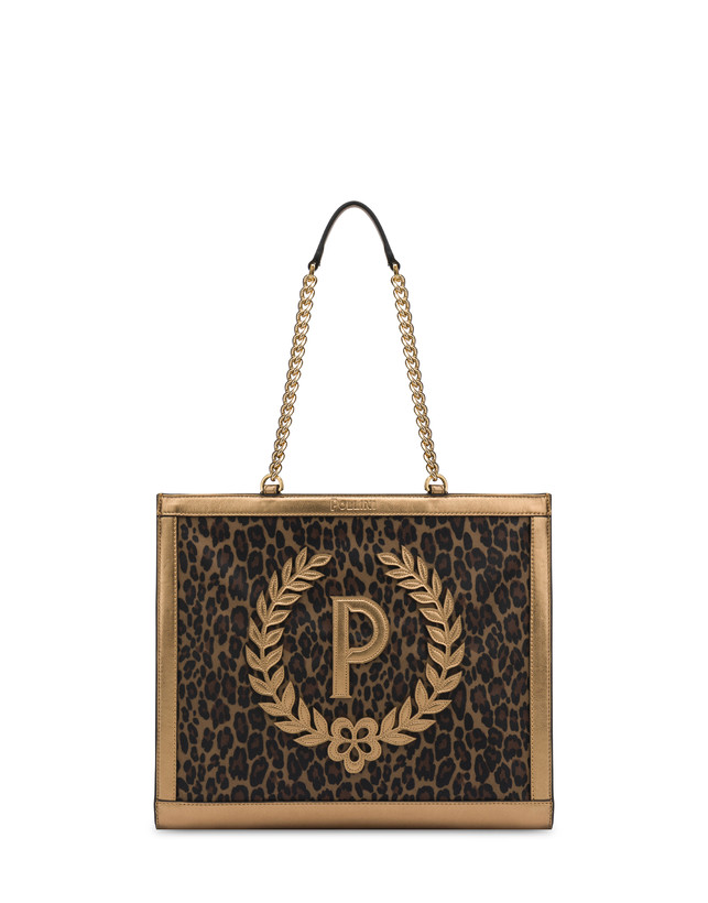 Follow The Sun leopard print shopping bag Photo 1