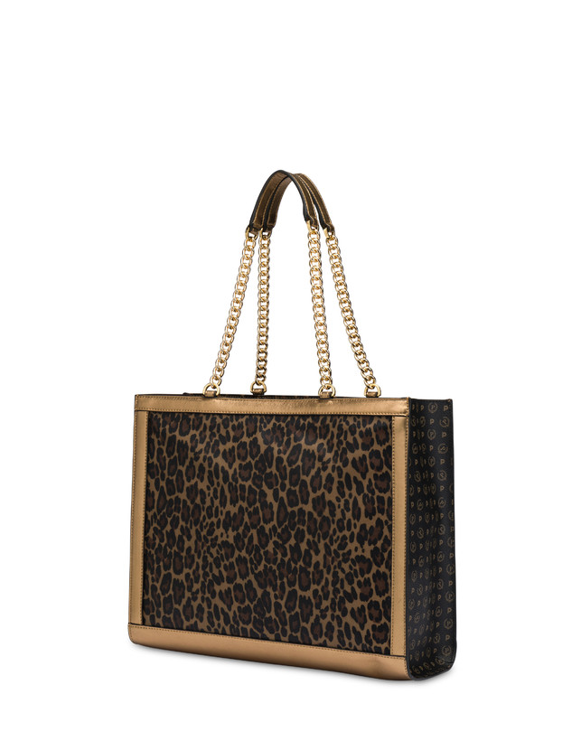 Follow The Sun leopard print shopping bag Photo 3