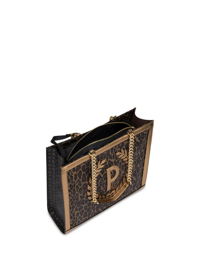 Follow The Sun leopard print shopping bag Photo 4