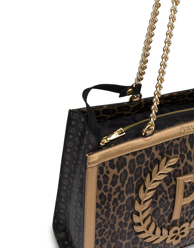 Follow The Sun leopard print shopping bag Photo 5