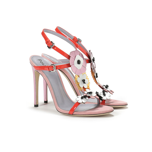Sandals Opium orange/powder puff pink