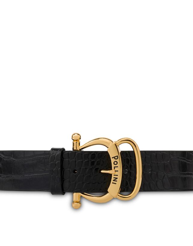 Cintura in vitello stampa cocco Photo 3