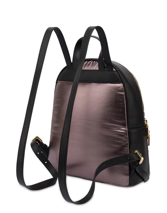 Shiny Tank metallic nylon backpack Photo 3