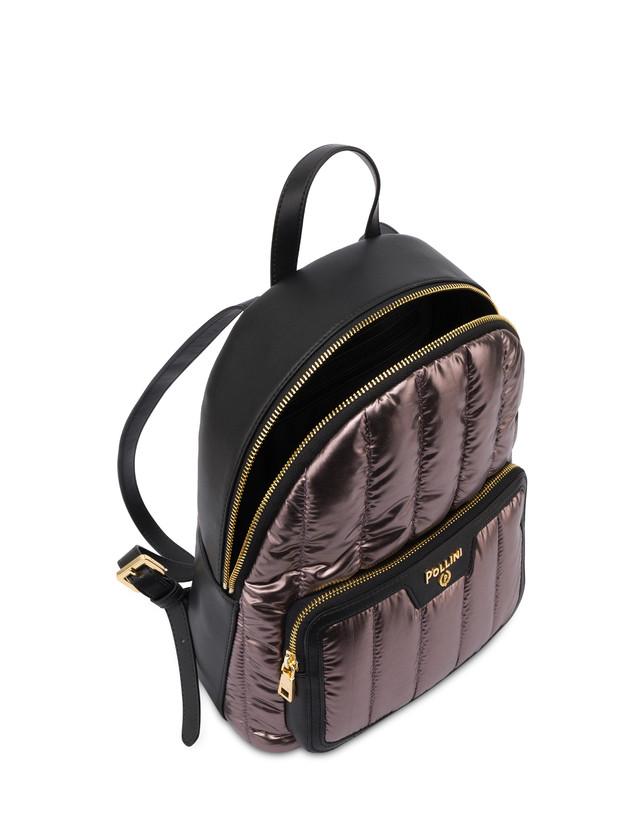 Shiny Tank metallic nylon backpack Photo 4
