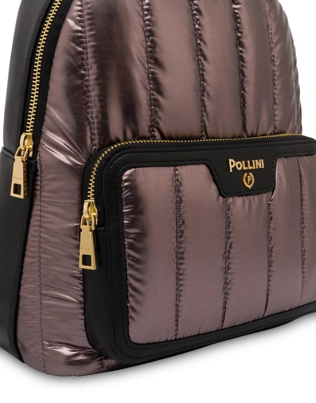 Shiny Tank metallic nylon backpack Photo 5