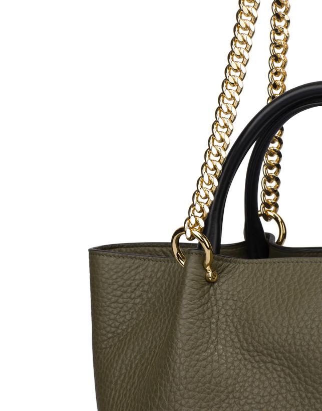 Shopping bag in Marlene calf leather Photo 6