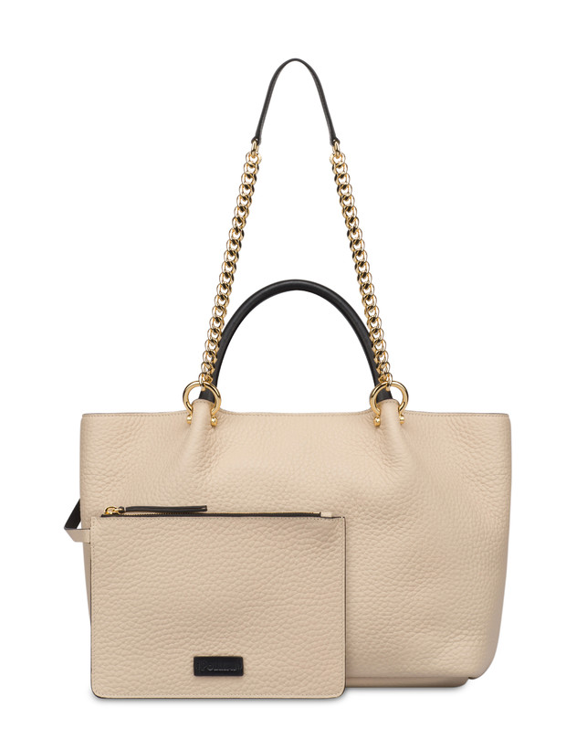 Shopping bag in vitello Marlene Photo 5