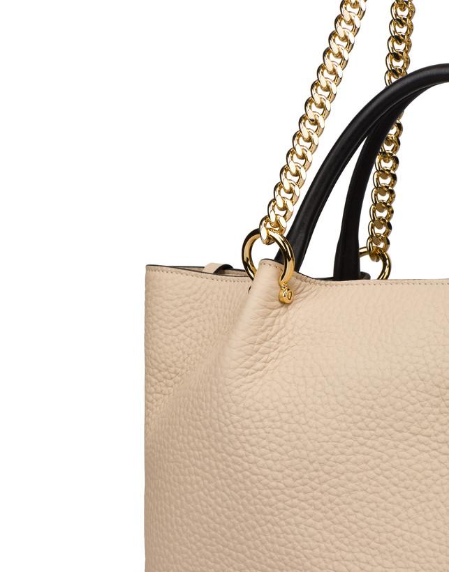 Shopping bag in vitello Marlene Photo 6