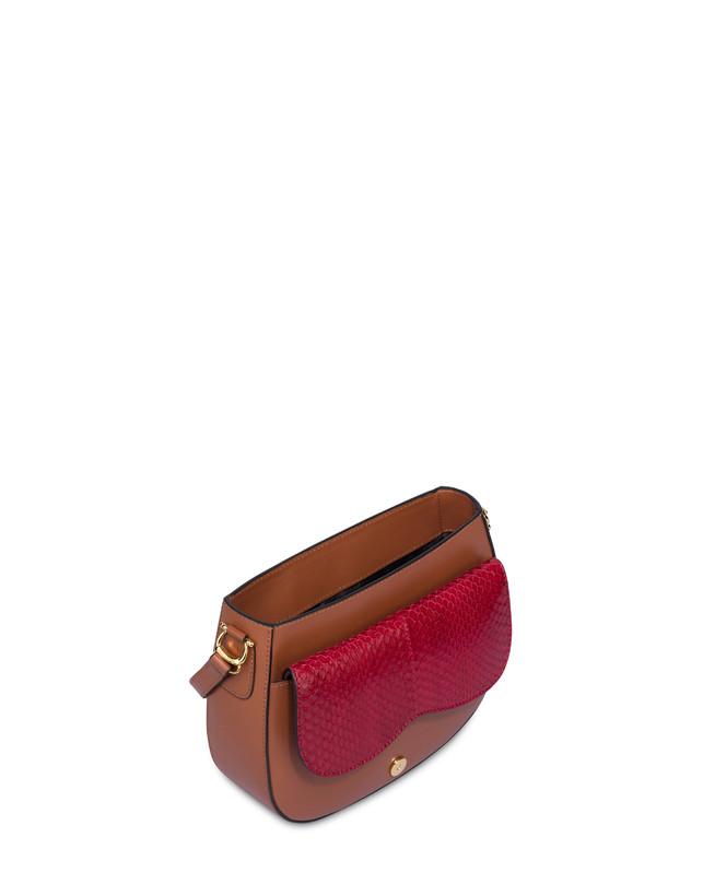 Petalo bag in vitello ed elaphe Photo 4
