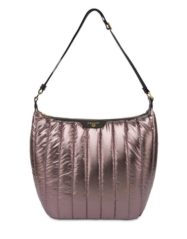 Hobo bag in nylon metallizzato Shiny Tank Photo 1