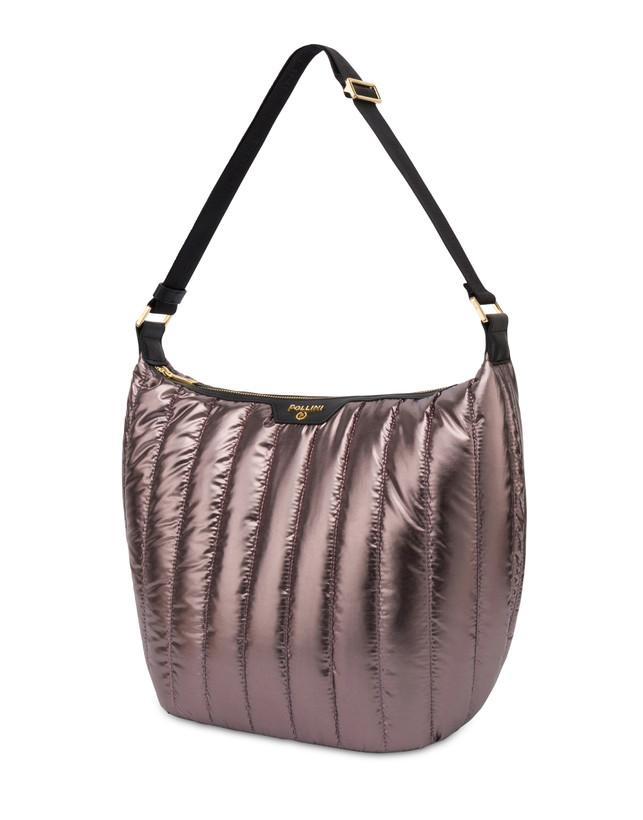Hobo bag in nylon metallizzato Shiny Tank Photo 2