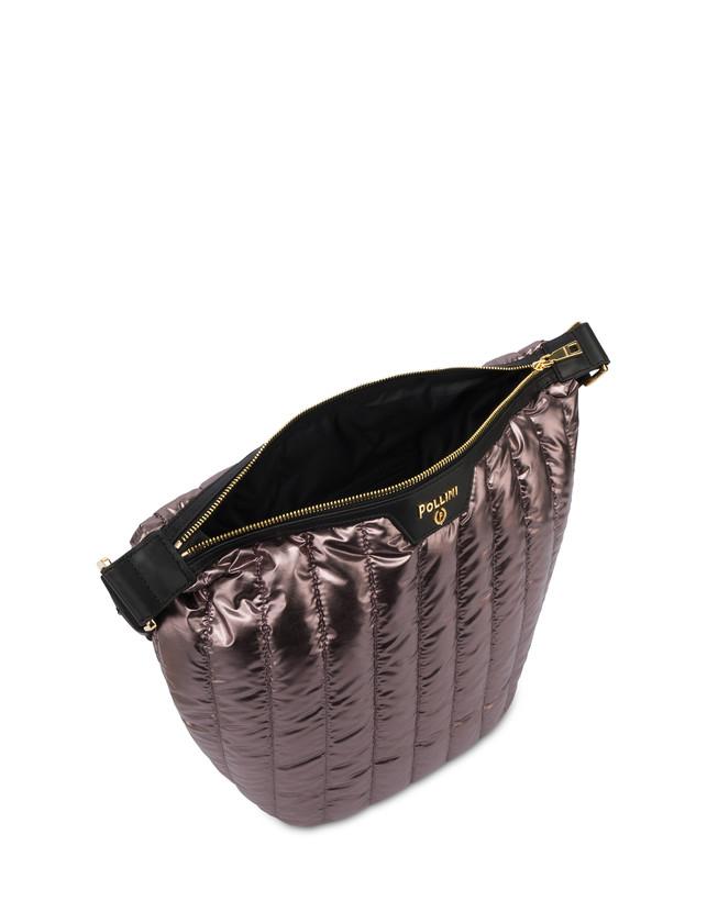 Hobo bag in nylon metallizzato Shiny Tank Photo 4
