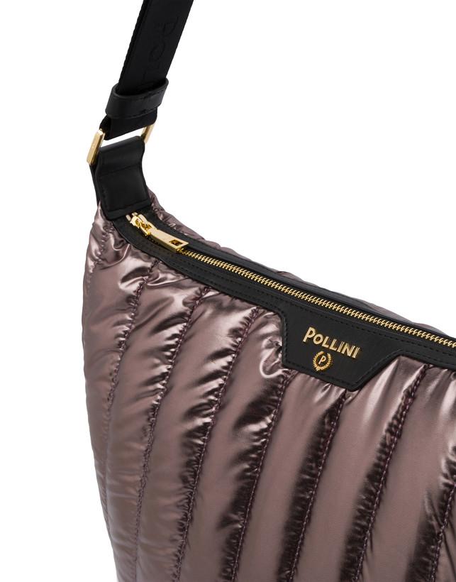 Hobo bag in nylon metallizzato Shiny Tank Photo 5