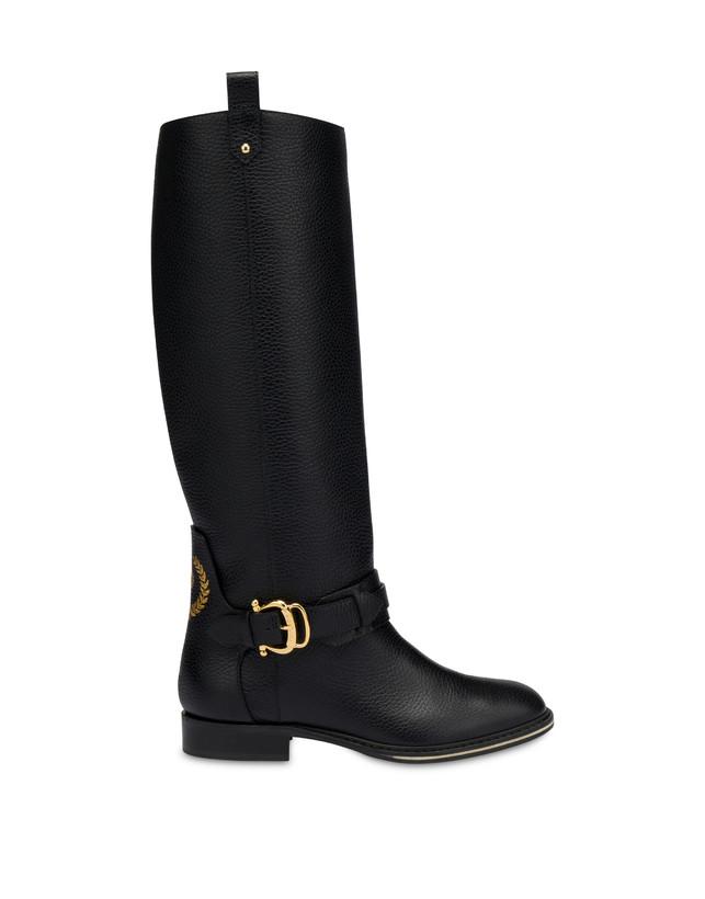 Cabitia Buckle calf leather boots Photo 1