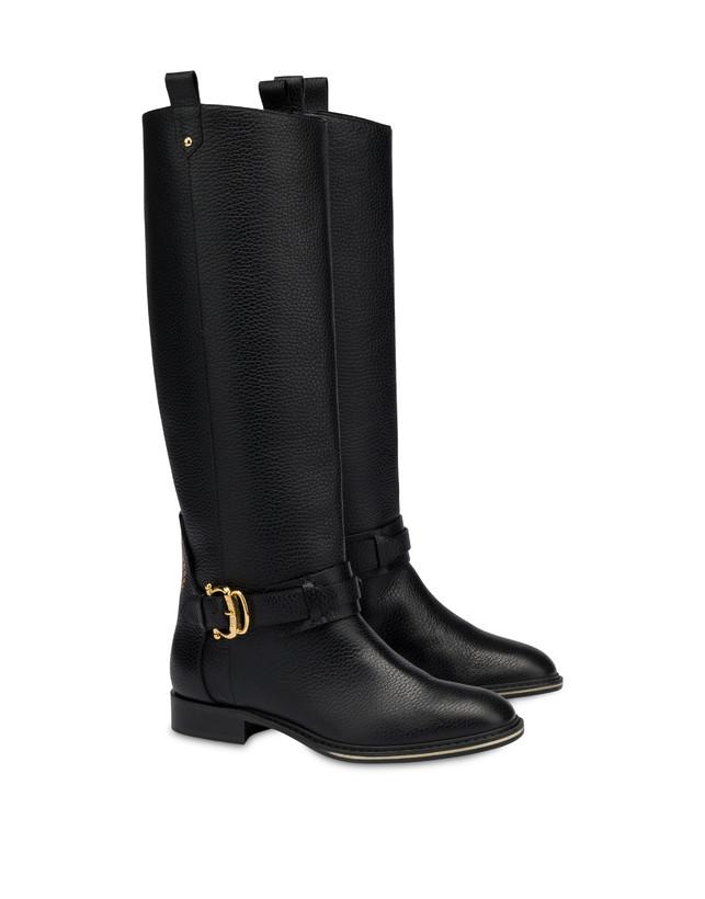 Cabitia Buckle calf leather boots Photo 2
