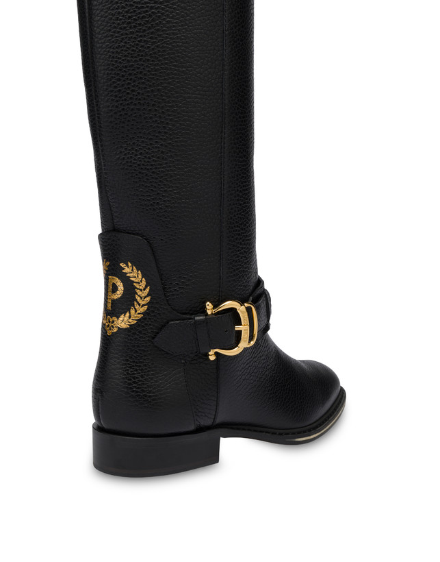 Cabitia Buckle calf leather boots Photo 4