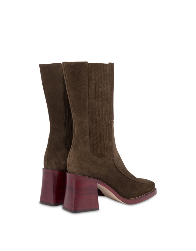 Marlene leather ankle boots Photo 3