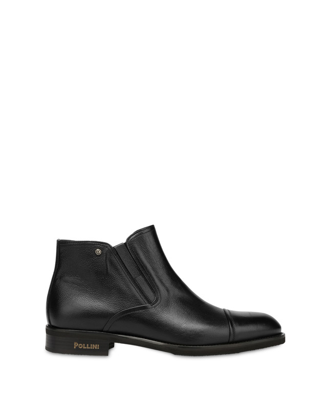 Gentlemen's Club calf leather ankle boots Photo 1