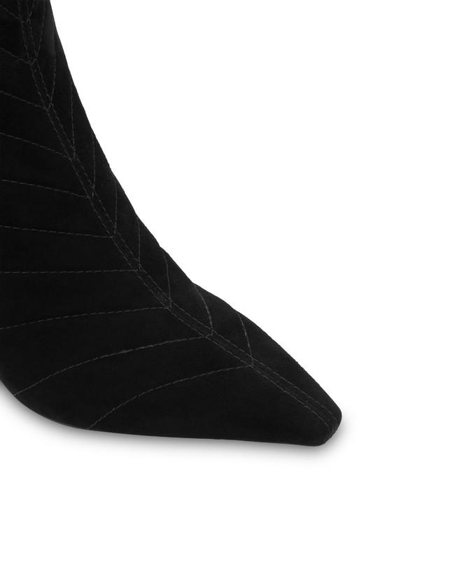 Belle Époque suede ankle boots Photo 4