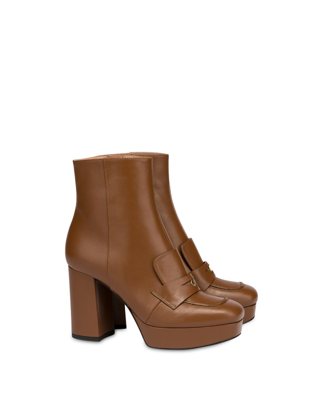 Victoria Station calf leather ankle boots Photo 2