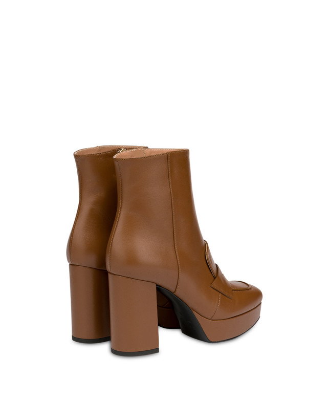 Victoria Station calf leather ankle boots Photo 3