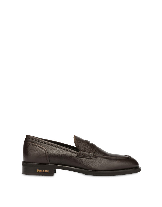 Gentlemen's Club calf leather loafers Photo 1