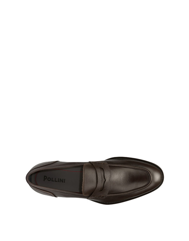 Gentlemen's Club calf leather loafers Photo 3