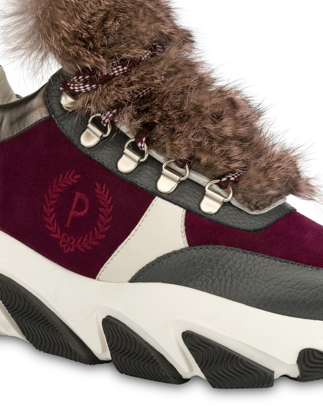 Sneakers with chunky hiking sole Photo 4