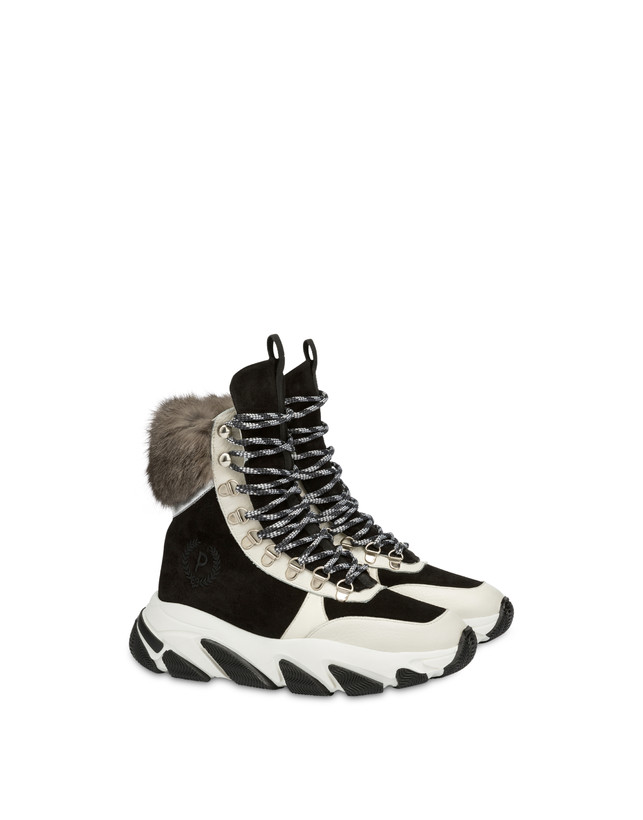High sneakers with chunky hiking sole Photo 2