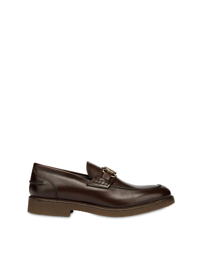 Gentlemen's Club calf leather college loafers Photo 1