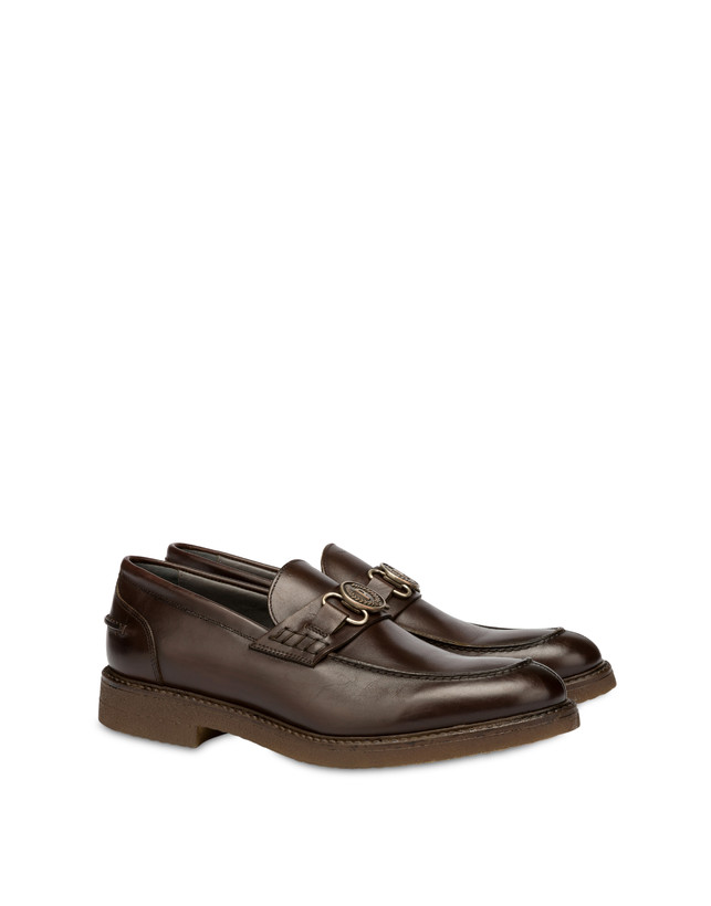 Gentlemen's Club calf leather college loafers Photo 2