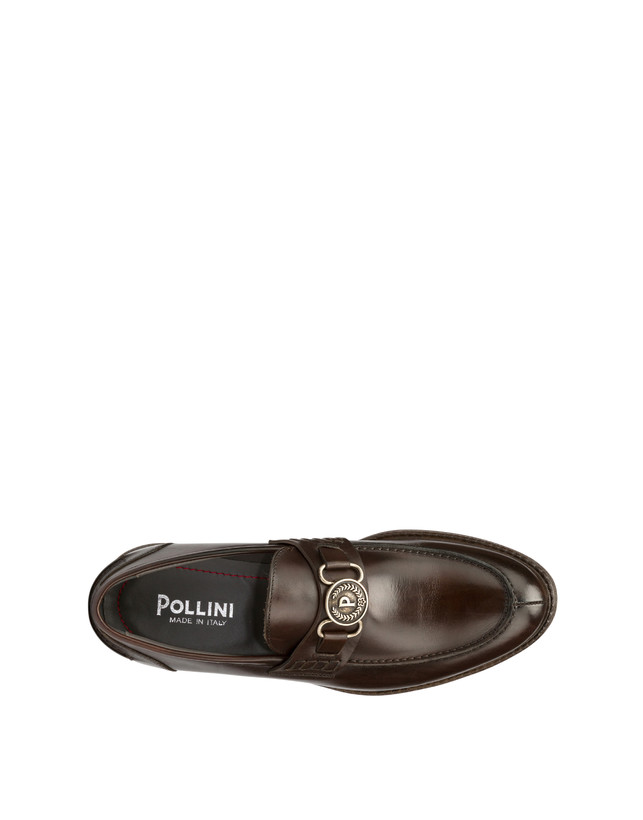 Gentlemen's Club calf leather college loafers Photo 3