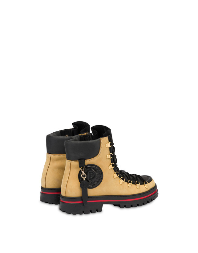 Pedule shoes in nubuck and Pollini Ice Cracker calf leather Photo 3