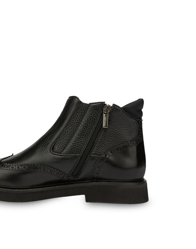 Wien calf leather ankle boots Photo 5