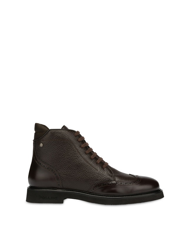 Wien calf leather lace-up ankle boots Photo 1