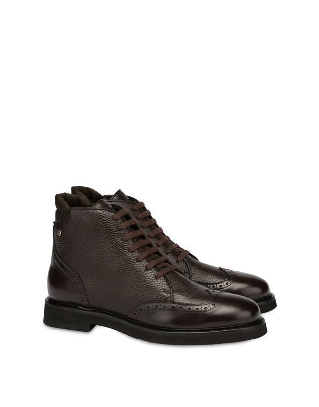 Wien calf leather lace-up ankle boots Photo 2
