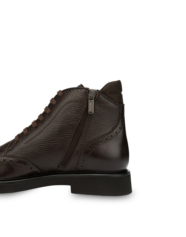 Wien calf leather lace-up ankle boots Photo 5