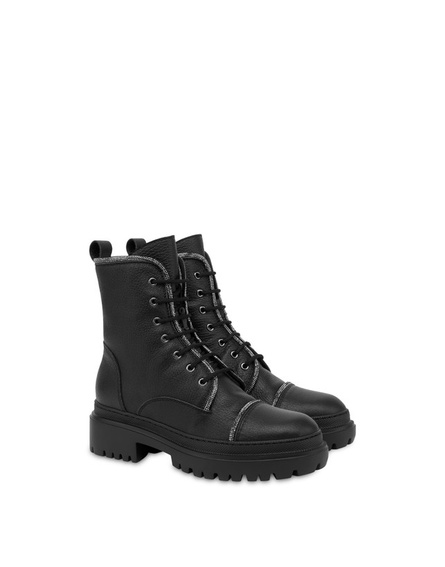 Karluv Most combat boot in calf leather Photo 2