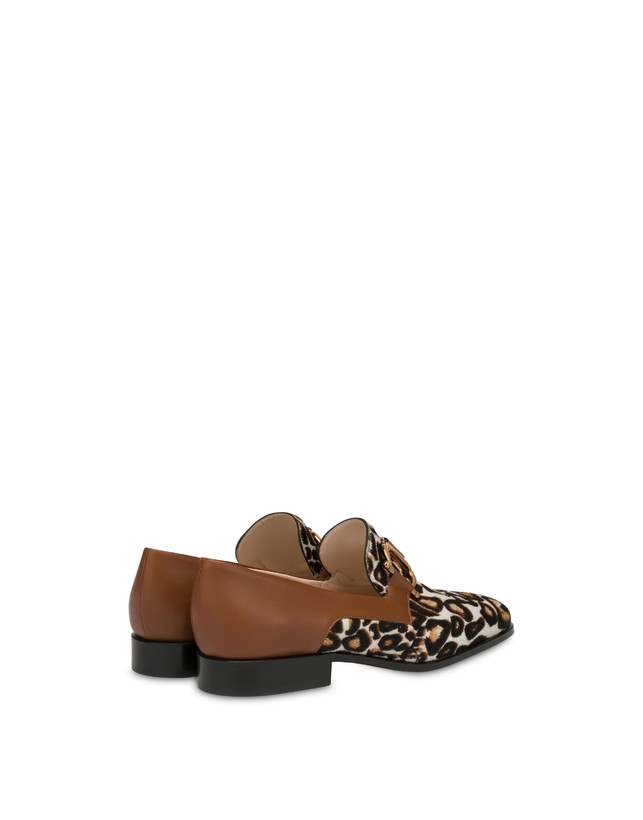 Natalia calfskin and spotted pony moccasins Photo 3