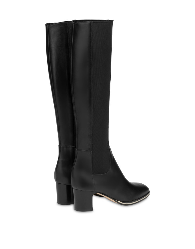 To-the-knee boots in Marne calf leather Photo 3