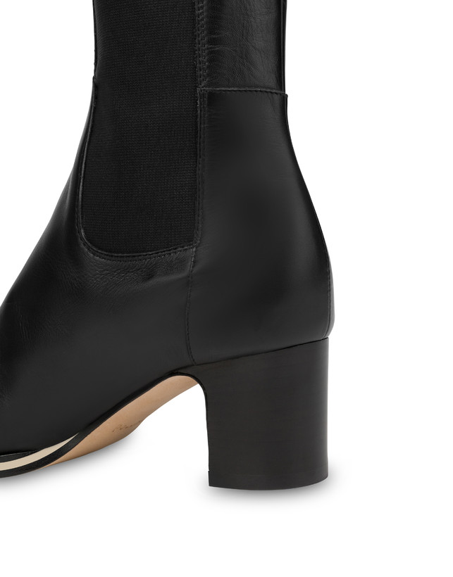 To-the-knee boots in Marne calf leather Photo 4