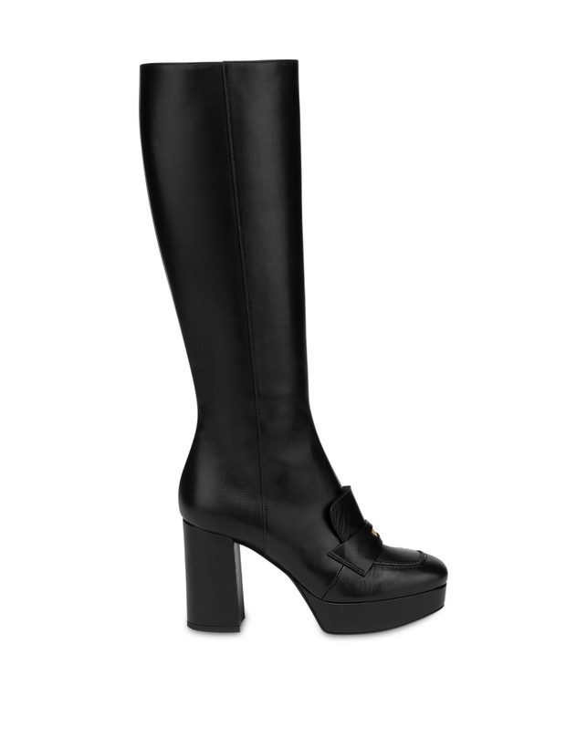 Victoria Station calf leather boots Photo 1