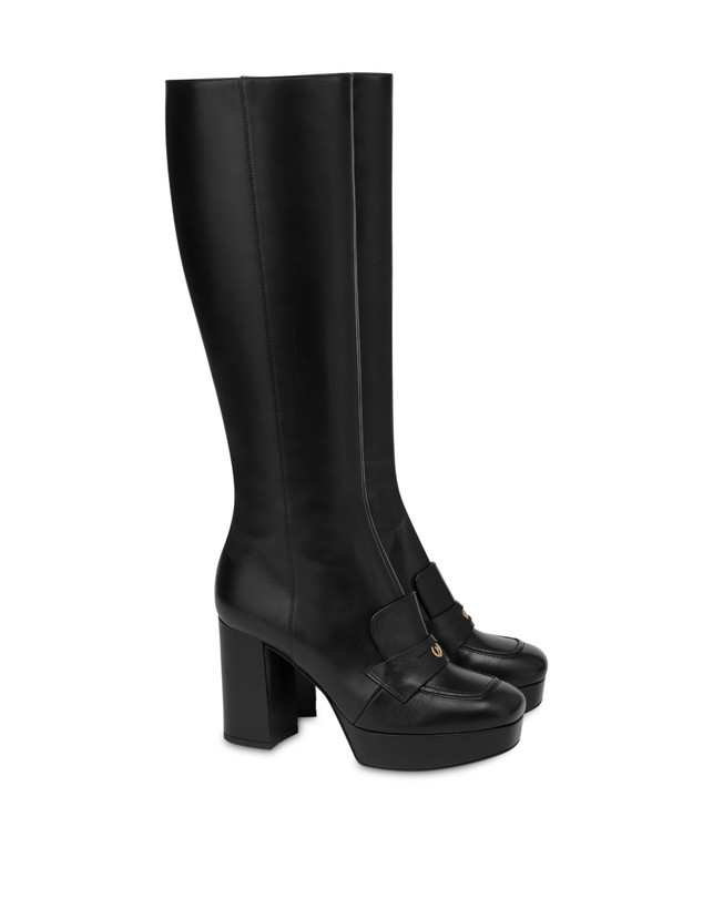 Victoria Station calf leather boots Photo 2