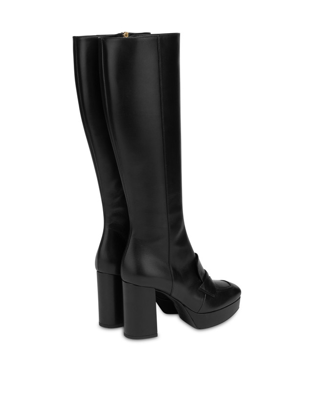 Victoria Station calf leather boots Photo 3