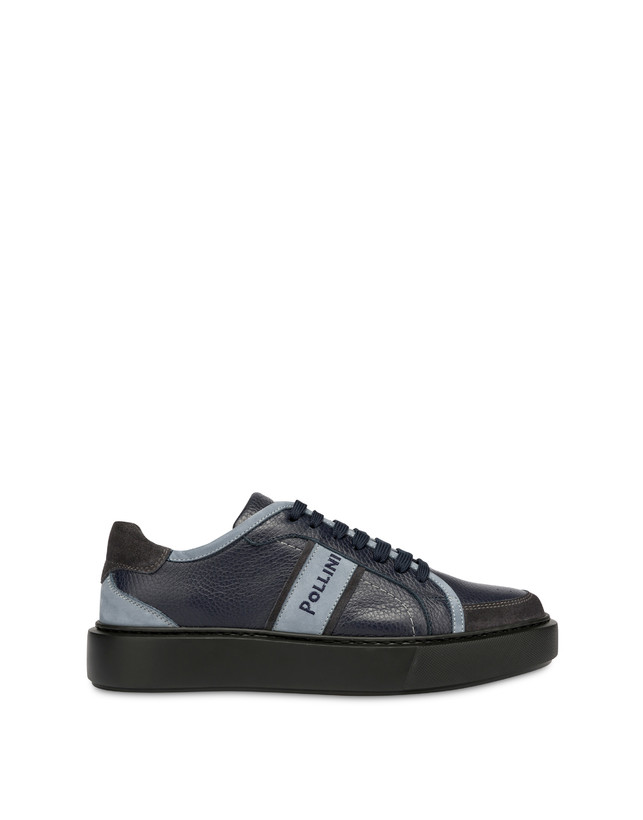 New Classic moose print calf leather sneakers Photo 1