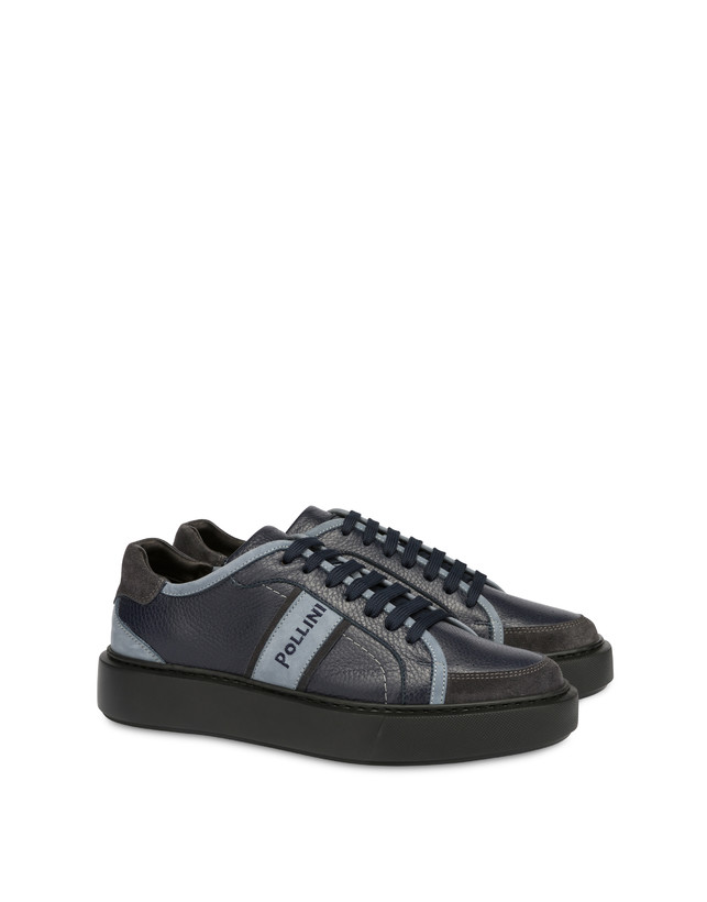 New Classic moose print calf leather sneakers Photo 2