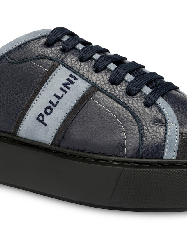 New Classic moose print calf leather sneakers Photo 5