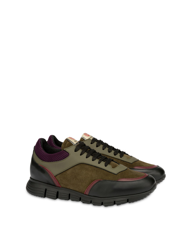 Court leather and calf leather sneakers Photo 2