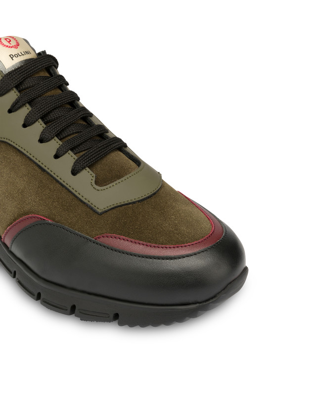 Court leather and calf leather sneakers Photo 5
