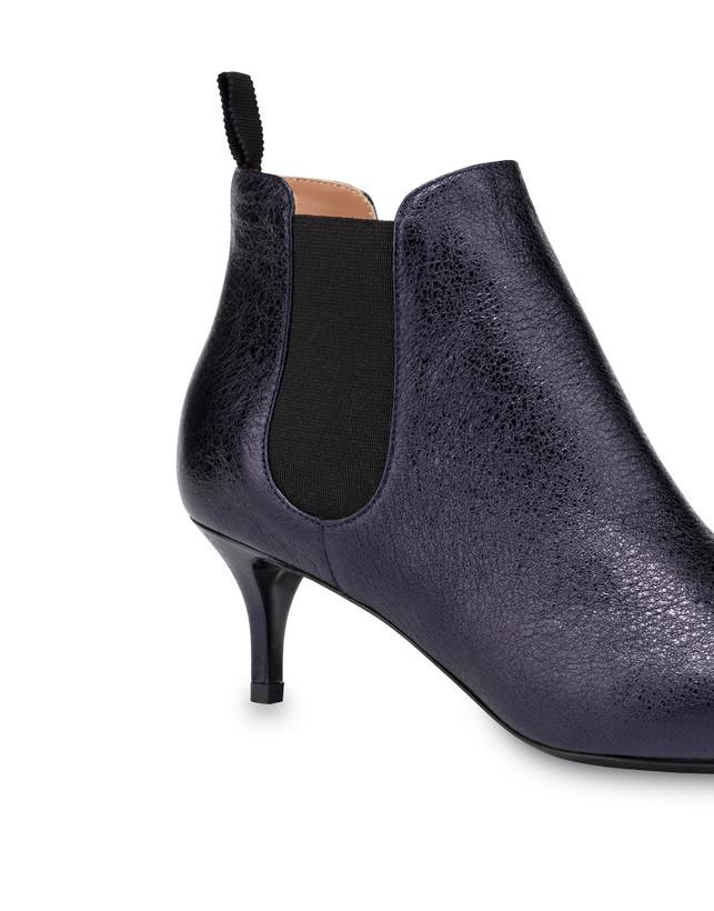 Laminated Annabelle napa leather boots Photo 4
